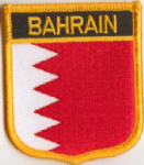Bahrain Embroidered Flag Patch, style 07